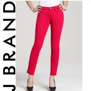 J BRAND Pink Skinny Jeans